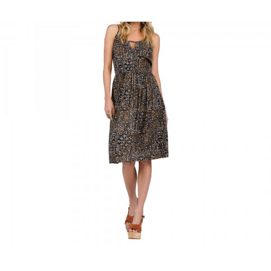 VOLCOM ROUGH EDGES DRESS IN WOMENS CLOTHING DRESSES - CASUAL DRESSES - DRESSES