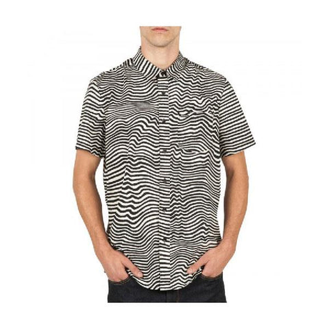 Volcom Vibe Daze Mens Button Up SS Shirts
