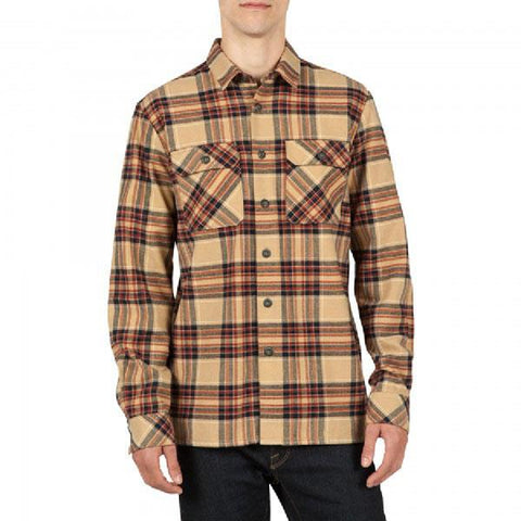 VOLCOM JASPER FLANNEL IN MENS CLOTHING L/S WOVEN SHIRTS - MENS BUTTON UP LONG  SLEEVE SHIRTS - MENS FLANNEL SHIRT