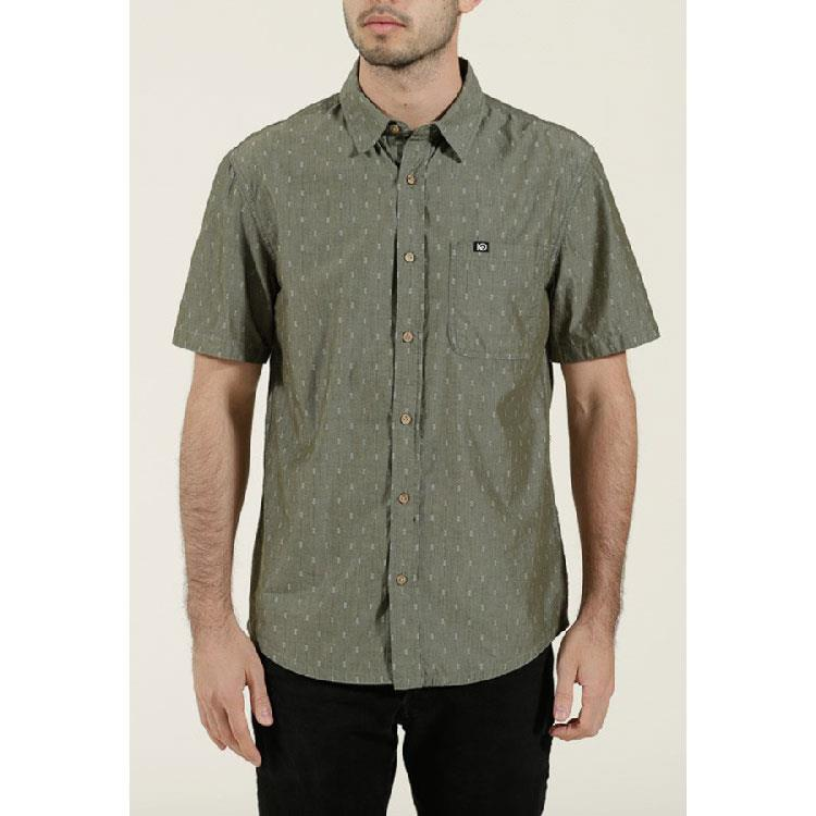 TEN TREE BORNEO IN MENS CLOTHING S/S WOVEN - MENS BUTTON UP SHORT SLEEVES SHIRTS - SHIRTS