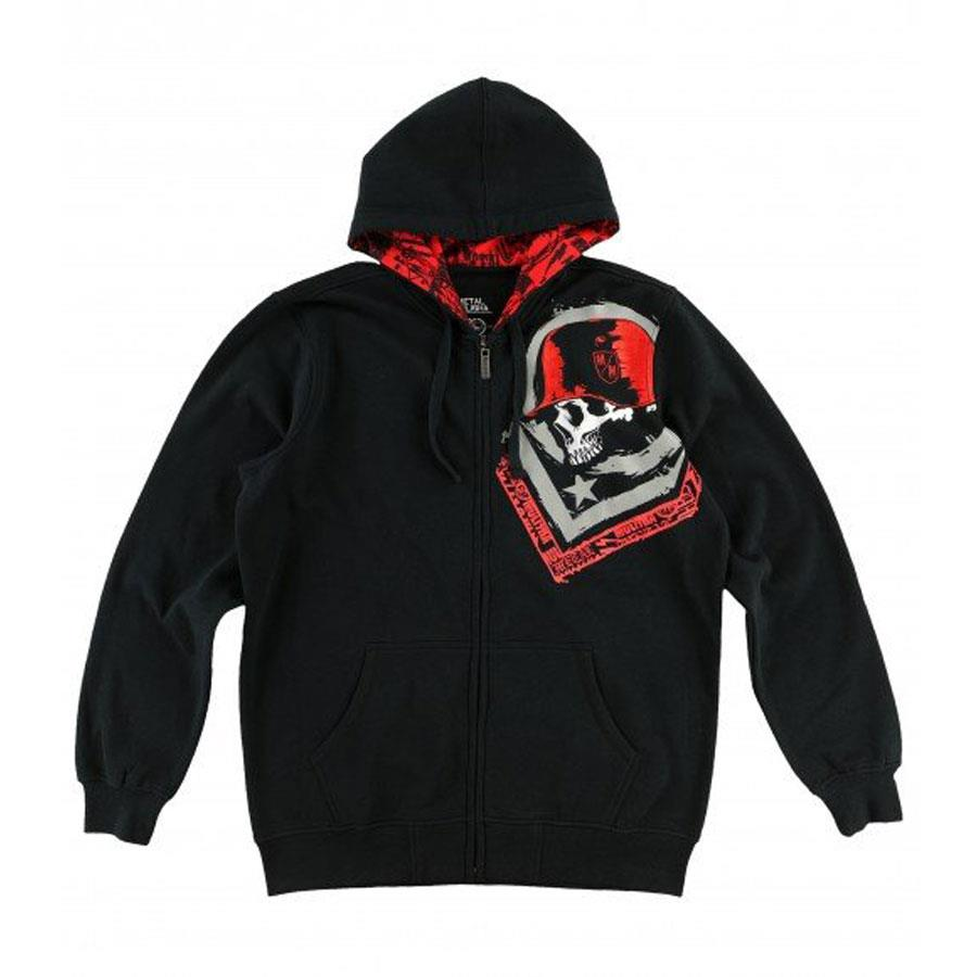 Metal Mulisha Thursty Custom Mens Zip Up Hoodies