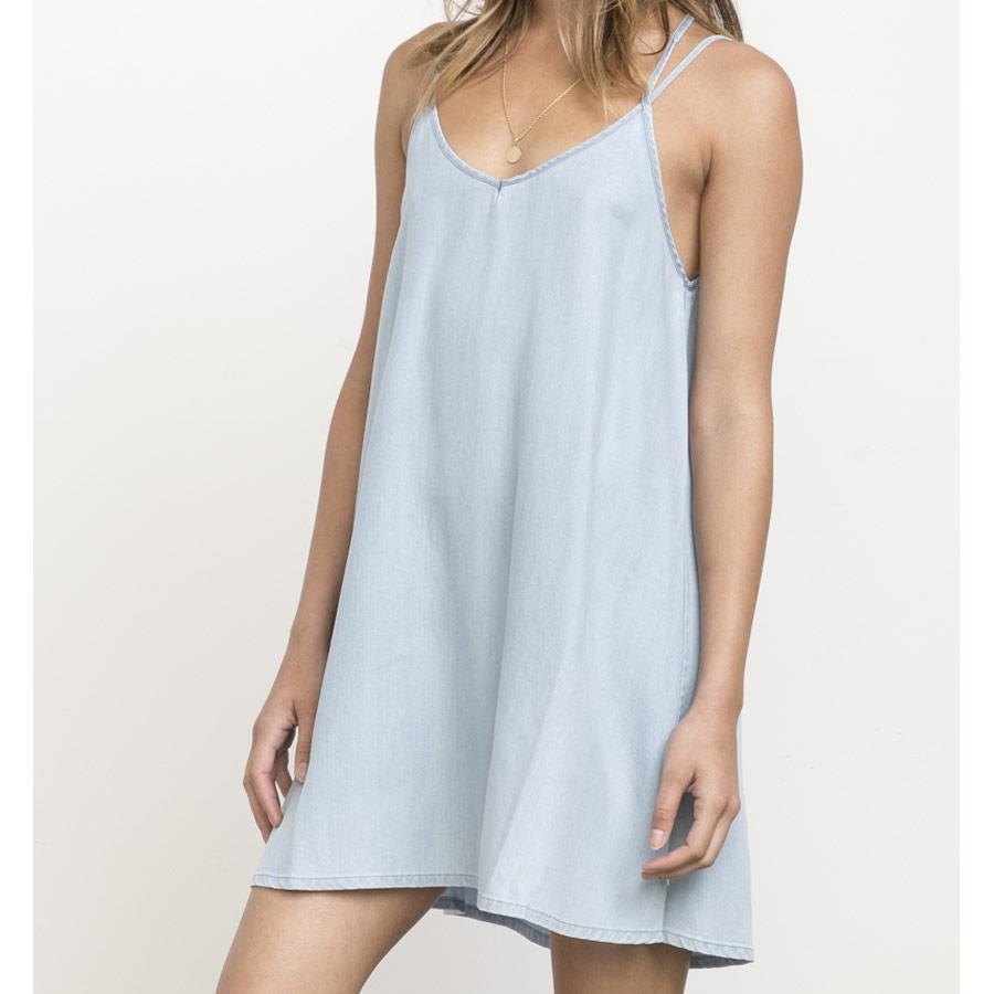 RVCA SALENE DRESS IN WOMENS CLOTHING DRESSES - CASUAL DRESSES - DRESSES