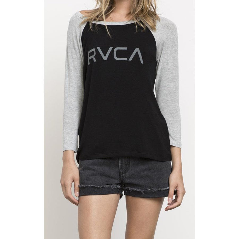 RVCA Big RVCA Womens Long Sleeve Shirts