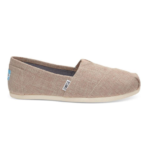 Toms Seasonal Classic Textile Womens Slip On Shoes