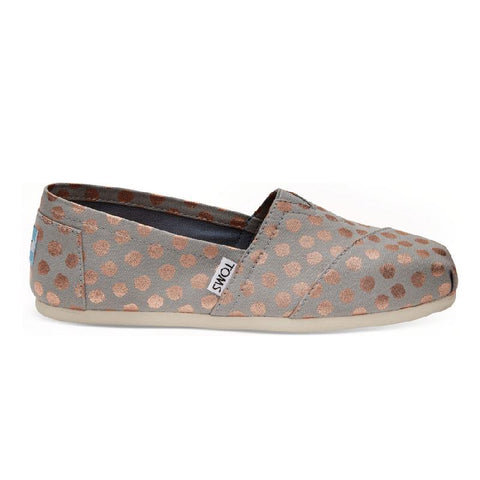 Toms Seasonal Classic Prints Womens Slip On Shoes