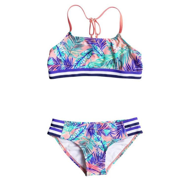 Roxy Retro Summer Halter Girls Swimwear Sets