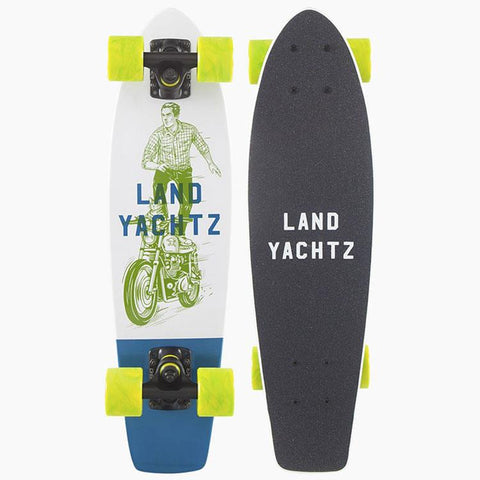 LANDYACHTZ MINI DINGHY GHOSTRIDE COMPLETE IN LONGBOARD COMPLETES - 20 TO 25 INCHES - MINI CRUZERS