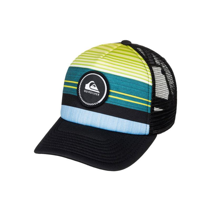 Quicksilver Striped Vee Toddlers Trucker Hats