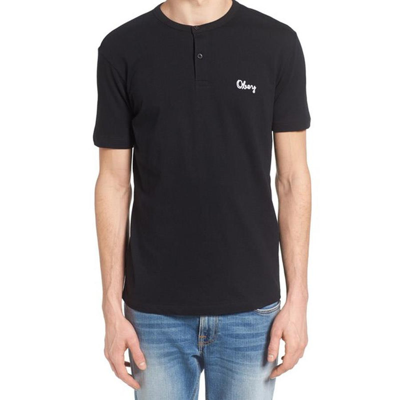 Obey Assignment Henley Mens Short Sleeve Shirts