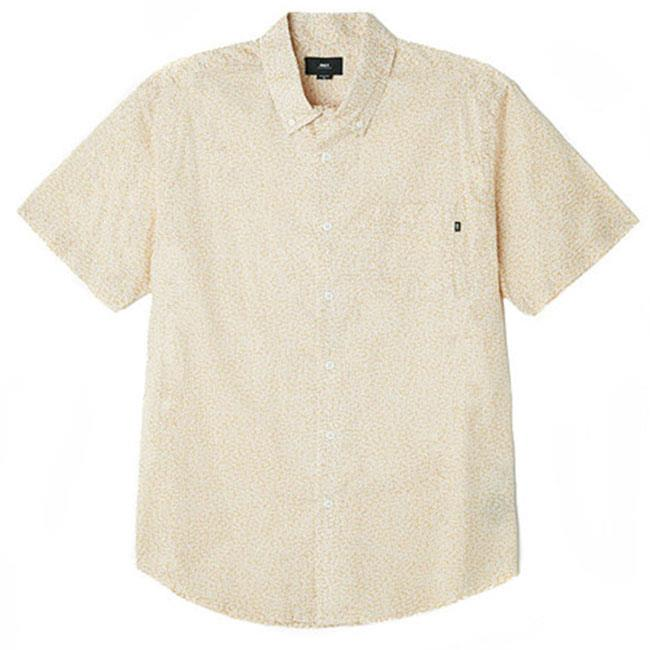 Obey Untamed Mens Button Up Short Sleeve Woven Shirts