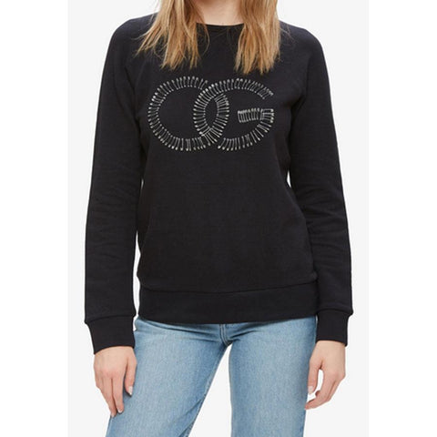 Obey Skattered Womens Crew Sweaters