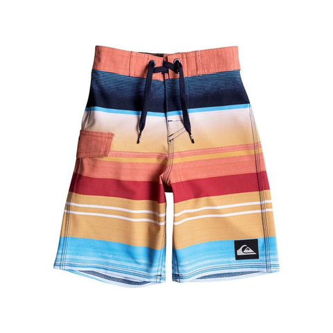 Quicksilver Everyday Stripe Vee 14.5 Lil Boy Shorts