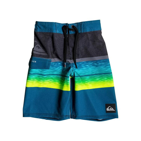 Quicksilver Slab Logo 14 Inch Boys Boardshorts