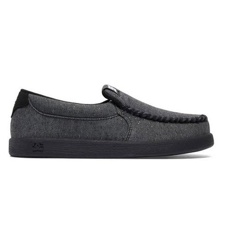 DC Villain TX SE Boys Slip On Shoes