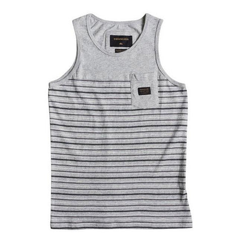 Quicksilver Full Tide Pocker Boys Tank Tops
