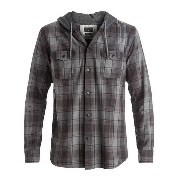 Quicksilver Snap Up Mens Long Sleeve Shirts