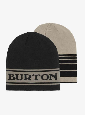 10470106001-BURTON-MENS BEANIES-TRUE BLACK/IRON GRAY