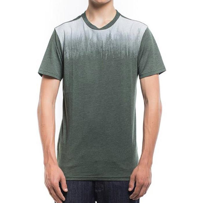 Ten Tree Foggy Juniper Mens Short Sleeve Shirts