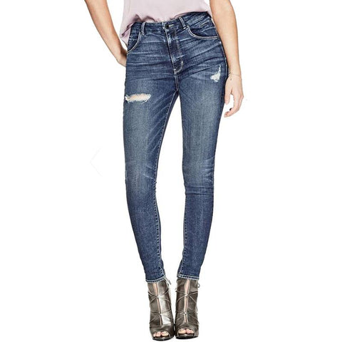 Guess Super High Rise Womens Skinny Jeans