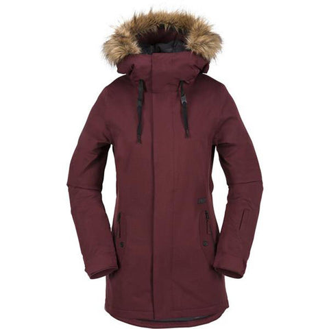 VOLCOM MISSION INSULATED SNOWBOARD JACKET IN WOMENS INSULATED JACKETS - WOMENS OUTERWEAR - OUTERWEAR