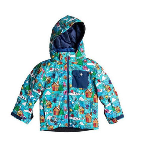 Quicksilver Mr. Men Little Mission Boys Snowboard Jackets