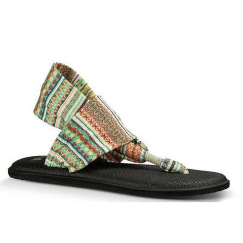 Sanuk Yoga Sling 2 Prints Womens Fashion Sandals