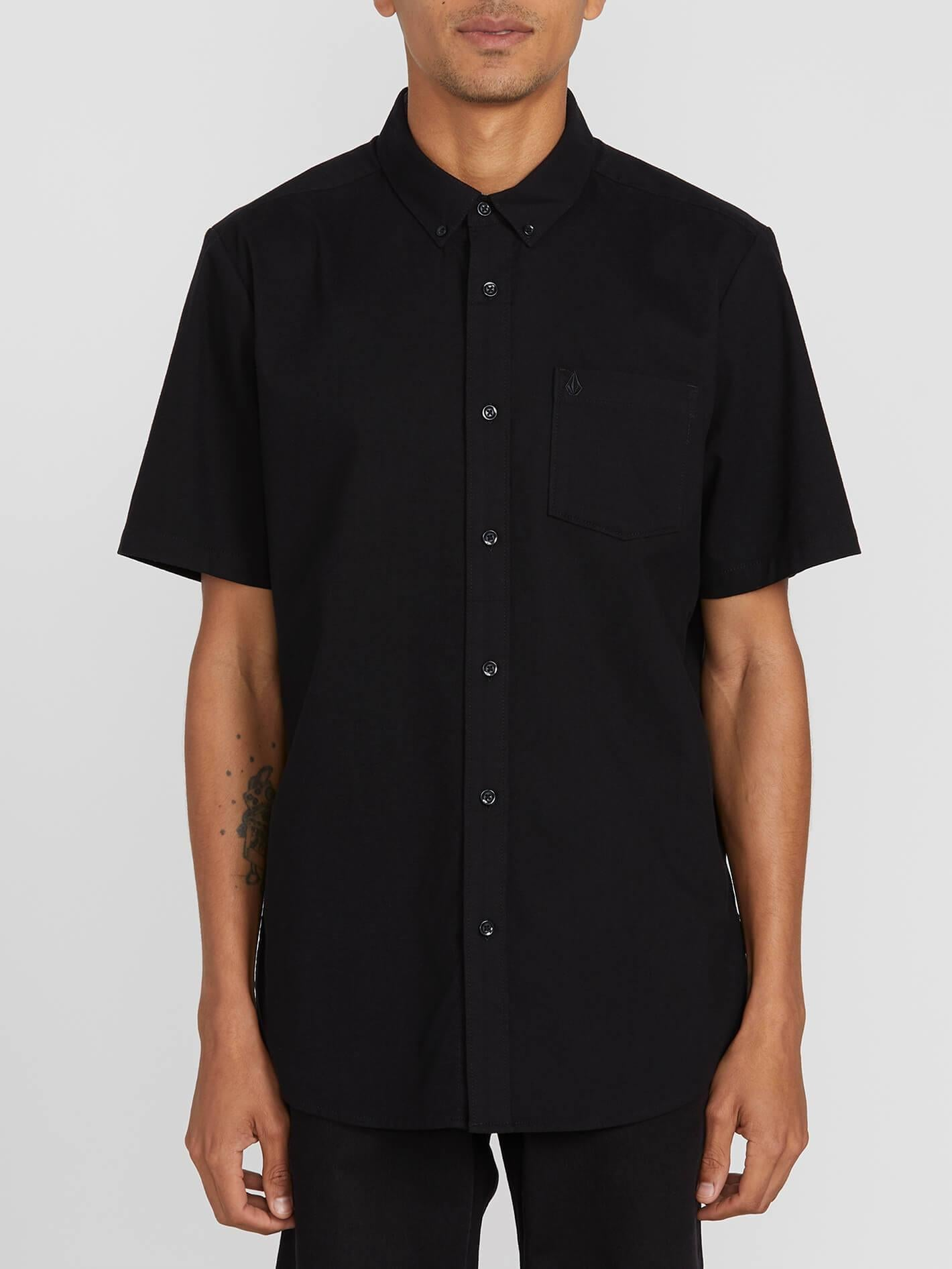 Volcom Everett Oxford Short Sleeve Button Up Shirt