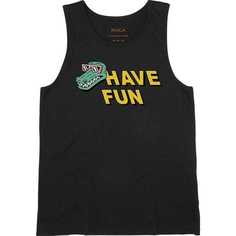 RVCA Have Fun Luke Pelletier Mens Tank Tops