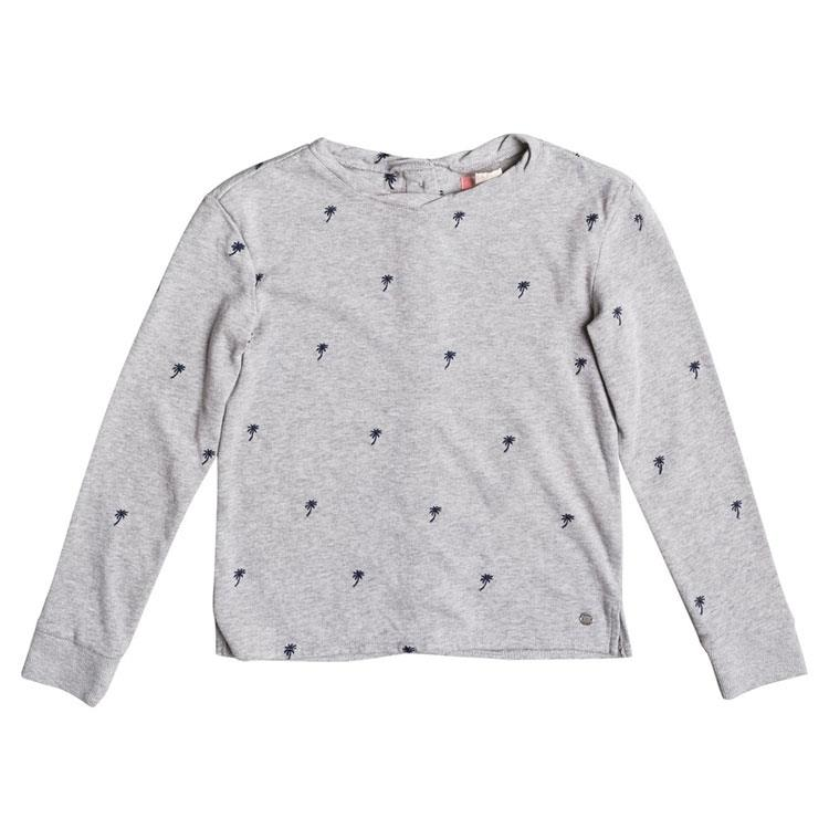 ROXY GIRLS SKY SURVEY PALMITO BUTTON BACK SWEATSHIRT IN GIRLS SWEATERS - LIL GIRLS - KIDS
