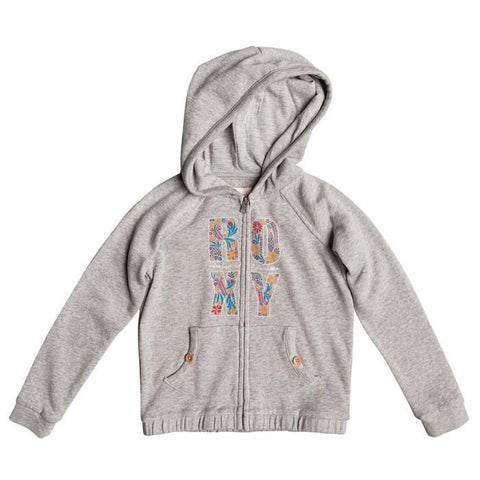 ROXY GIRLS RADIATE POSITIVE ZIP UP HOODIE IN GIRLS HOODIES - LIL GIRLS - KIDS