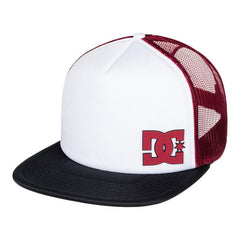 dc madglads trucker hat boys front view youth hats blue