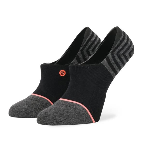 stance uncommon invisible overall view womens socks black w115a18unc-blk