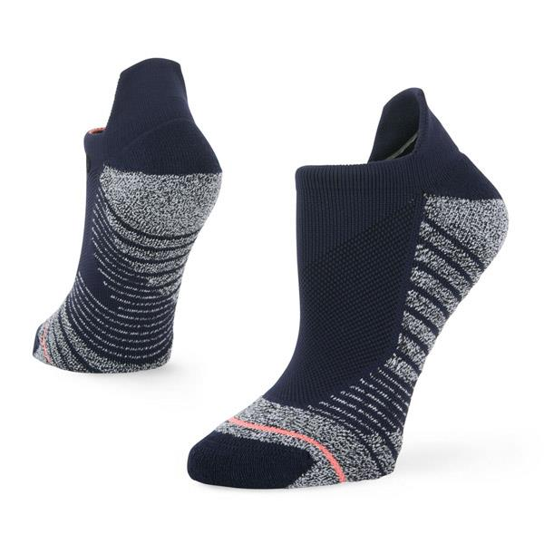 stance training isotnic tab sock overall view womens socks navy blue w257a18iso-blu