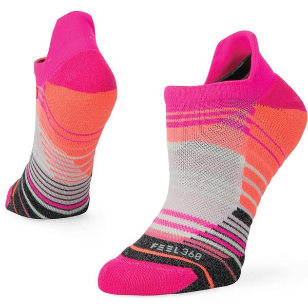 stance training siella tab socks overall view womens socks pink w257a18sie-pink
