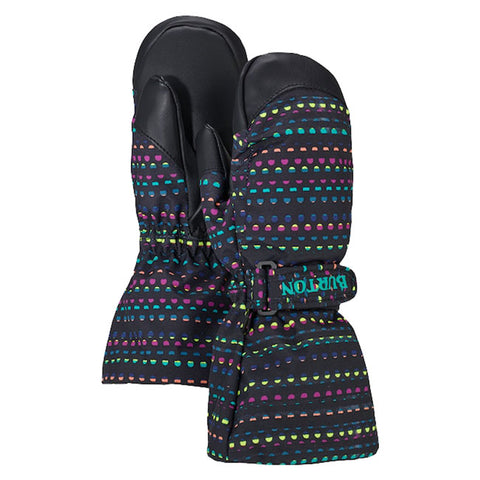 BURTON MINISHRED HEATER MITT IN LIL GIRL OUTERWEAR 2-7 MITTS - YOUTH MITTS - GLOVES AND MITTS