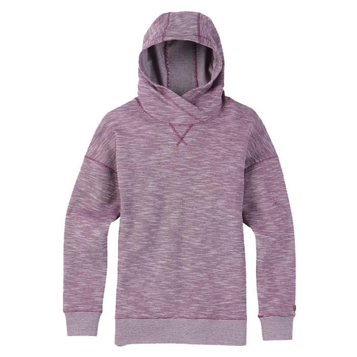 burton hixon pullover hoodie front view womens pull over hoodie heather purple 17859101960