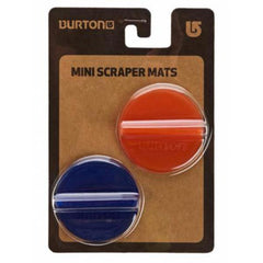 burton mini scraper stomp pad overall view stop pads red/blue 1081310608