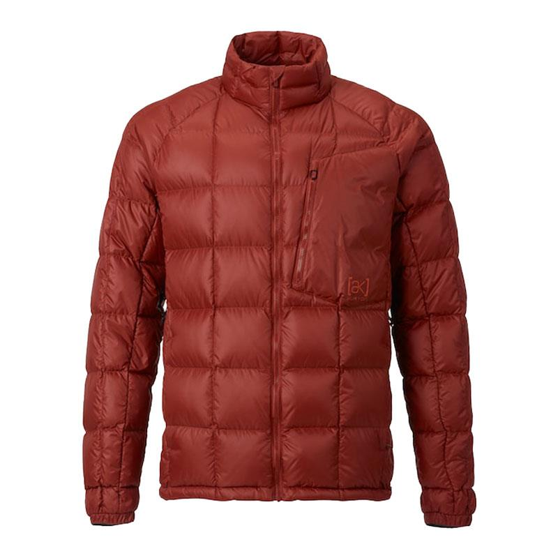 burton ak bk down insulator jacket front view mens isulated snwboard jackets red 10003104600