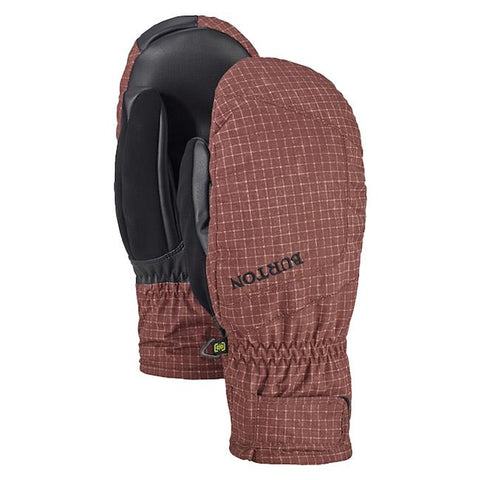 burton profile under mitt mens front and back view mens mitts bronze 10386104200