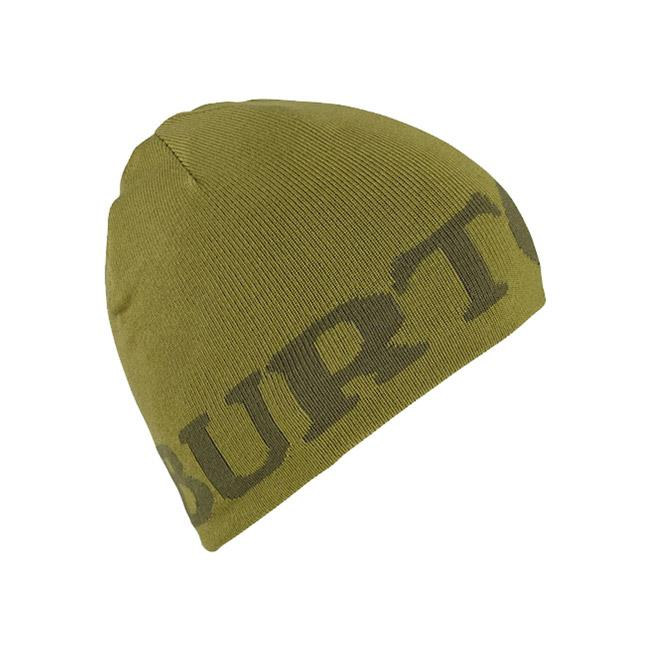 burton billboard beanie kids side view youth toques green 1052210430