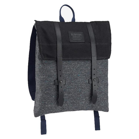 buirton taylor pack overall view school backpack black/grey 15293104051