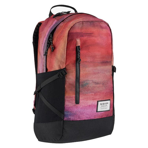 burton prospect pack overall view school backpack orange/pink 15388104993