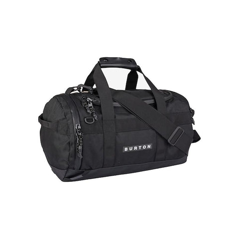 burton backhill duffle bag 25l overall view duffle bags black 1668410316