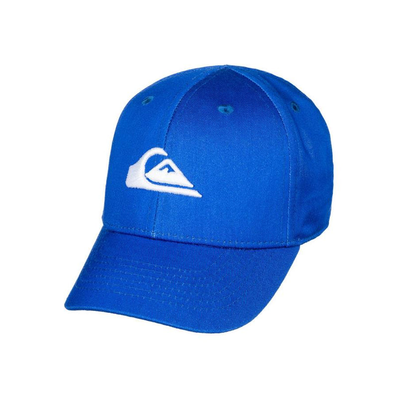 quicksilver decades snapback hat front view toddlers hat blue aqiha0306-bpc0