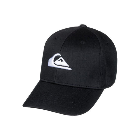 quicksilver decdes snapback hat boys front view toddlers hat black aqkha03151-kvj0