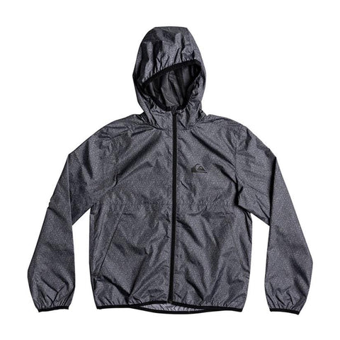 quicksilver contrasted windbreaker boy front view boys windbreaker dark heather eqkjk03038-krph