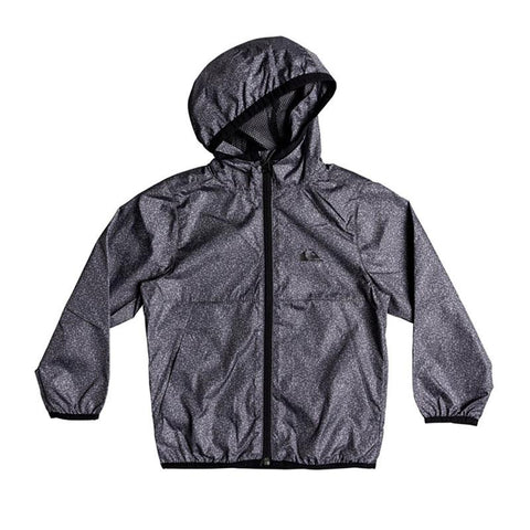 quicksilver contrasted windbreaker boy front view boys windbreaker dark heather eqkjk03081-krph