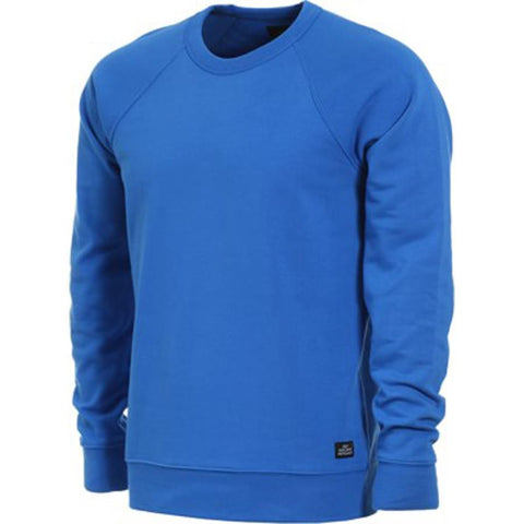 obey Lofty Creature Comfort Crewneck Sweatshirts front view mens crew swaetshirts royal 11620025-ryl