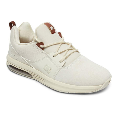 dc Heathrow IA LE Shoes side view womens skate shoes off white adjs20009-cre