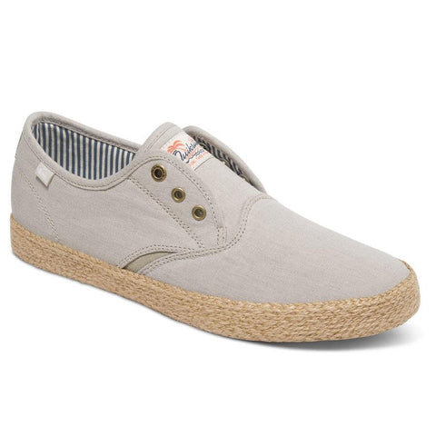 QUIKSILVER SHOREBREAK DELUXE LACEABLE SLIP ON SHOES IN MENS SLIP ON SHOES - MENS LIFESTYLE SHOES - SHOES